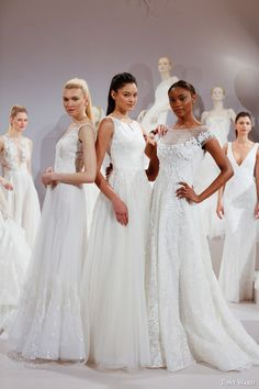 tony ward bridal spring 2016 new york bridal market runway show wedding dresses