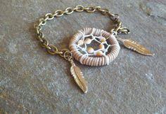 Dream Catcher Bracelet...how cute!