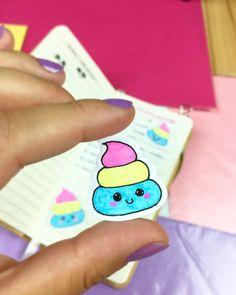 Cute Tiny Kawaii Unicorn Poop Stickerhttps://www.etsy.com/listing/538127849/kawaii-cute-tiny-riceball-coffeebean?ref=shop_home_active_5