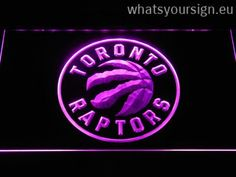 Toronto Raptors Badge - Neon sign LED display made of the highest quality clear plastic and briliant colorful lighting. The neon sign displays exactly the same from all angles thanks to the carving with the newest 3D laser engraving technology. This LED neon sign is a great gift idea! The neon is provided with a metal chain for displaying. Available in 3 sizes in following colours: Yellow, Green, Orange, Purple, White, Red and Blue!