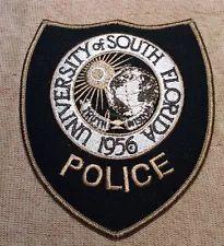 University of South Florida Police Patch