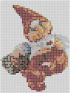 Jule perler Hama Beads Design, Hama Beads Patterns, Beading Patterns, Xmas Crafts, Diy And Crafts, Perler Beads, Cross Stitch Patterns, Pikachu, Pokemon
