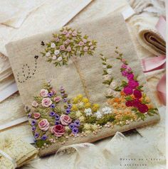 Pretty needlework!                                                                                                                                                      More