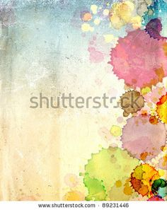 Grunge background. Texture old paper with stains of paint by Lukiyanova Natalia / frenta, via Shutterstock