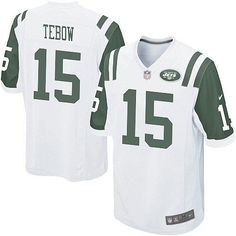 Youth Nike NFL New York Jets http://#15 Tim Tebow Limited White Color Jersey$69.99
