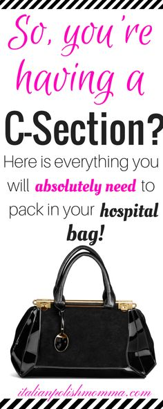 Preparing for baby during pregnancy - Are you having a scheduled c-section? Here is exactly what you will need to pack in your hospital bag for your scheduled c-section! These hospital bag must haves are essential for a smooth cesarean recovery! Packing Hospital Bag, Hospital Bag Checklist, Baby Checklist, Maternity Hospital Bag, Scheduled C Section, Hospital Bag For Mom To Be, Hospital Bag C Section, Mommy Hospital Bag, Pregnancy Information