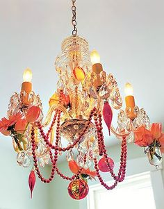 Primed4Design: Dandy Chandy Tuesday ~ Dress up your lighting for the Holidays