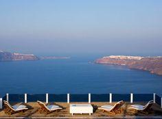 Santorini...caldera view from Rocabella resort.  Sigh.  My next retreat destination....!