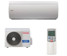 Individual wall-mounted air conditioner (split system, reversible) - SUPER DAISEIKAI - TOSHIBA air conditioning