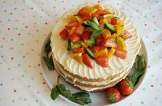 Pimm's layer cake recipe - goodtoknow... This delicious Pimm's layer cake is easier to make than it may look. With an impressive 3 layers, it's perfect for special occasions or summer parties in the sunshine. Ready in just 50 mins, this cake combines Pimm's with butter and icing sugar to make a sweet and creamy buttercream which sandwiches each layer together nicely. Topped with freshly prepared fruit and garnished with sprigs of mint leaves, this Pimm's layer cake is a slice (or 10) of…