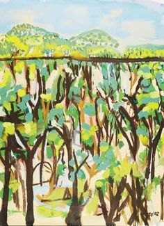 I just discovered these remarkable landscapes by Australian painter, Joe Furlonger, and I am thoroughly enchanted. Abstract Landscape Painting, Landscape Paintings, Landscapes, Australian Painters, Australian Art, Nz Art, Art For Art Sake, Arts Ed, Fashion Painting