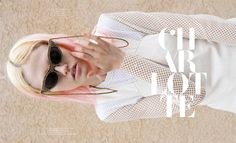 Charlotte Free Rocks Cool Style for the Cover Story of No. Magazine #15