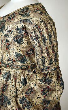 Dress. 1837 Culture: British Medium: cotto