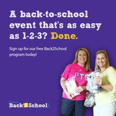 Registration is open for the PTO Today Back2School 2015 program! #justaddparents