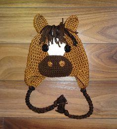Ravelry: Horse Hat Crochet Pattern pattern by Sheri Wentzell