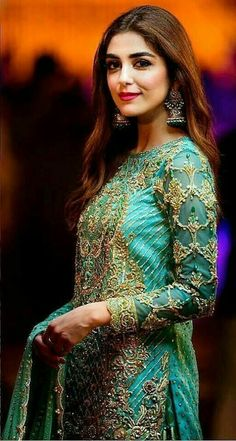 Enhance Your Style With These Fashion Tips! Desi Wedding Dresses, Pakistani Wedding Outfits, Pakistani Bridal, Pakistani Dresses, Indian Outfits, Bridal Dresses, Shadi Dresses, Maya Ali, Pakistani Models
