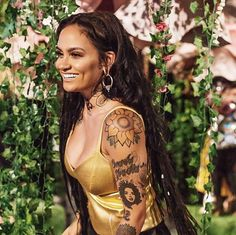 K Gorgeous Women, Beautiful People, Beautiful Beautiful, Kehlani Tattoo, Girl Celebrities, Celebs, Kehlani Parrish, Beautiful Pregnancy, Woman Crush