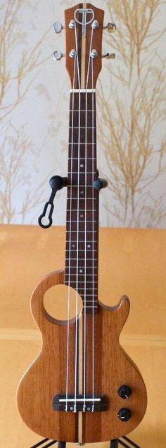 Teton Mahogany Electric Tenor Lardys Ukulele of the day 2017 Cool Ukulele, Ukulele Tabs, Ukulele Songs, Cool Guitar, Cigar Box Guitar, Guitar Lessons, Guitar Tips, Unique Guitars, Learn To Play Guitar