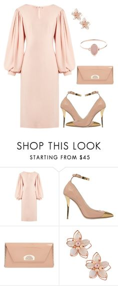 """Beauty & The Beat"" by jstylelife ❤ liked on Polyvore featuring Osman, Balmain, Christian Louboutin, NAKAMOL and Michael Kors"