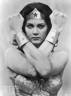 lynda carter • wonder woman. My hubby's fav action hero