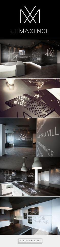 Bivouac Studio - Design graphique - Montréal - Le Bivouac - Groupe Maltais Commercial Office Design, Sales Center, Leasing Office, Sales Office, Logo Design, Graphic Design, Design Graphique, Logo Inspiration, Exterior Design