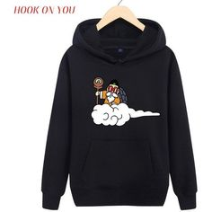 Lovely An Impossible Fusion Between Monkey And Turtle Fleece Hoodies Rock Anime Design Creative Casual Punk Women Men Sweatshirts Hoodies & Sweatshirts