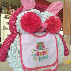 cute diaper cakes for a baby shower