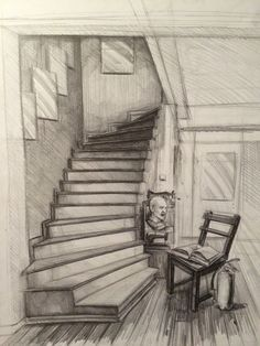 interior drawing sketch i mekan izimi haz rl k Perspective Architecture, Concept Architecture, Drawing Architecture, Islamic Architecture, Pencil Art Drawings, Art Drawings Sketches, Interior Sketch, Drawing Interior, Perspective Drawing