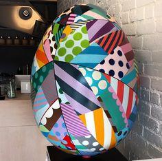 Jason Woodside designed Easter Egg - #bigegghuntNY