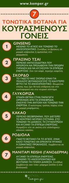 ΤΟΝΩΤΙΚΑ ΒΟΤΑΝΑ ΓΙΑ ΓΟΝΕΙΣ Home Remedies, Natural Remedies, Kids Health, Healthy Tips, Aromatherapy, Herbalism, Health Care, Herbs, Positivity