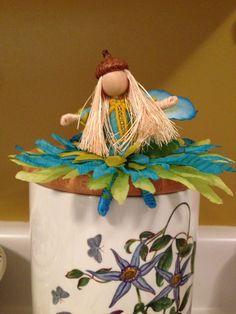 Blue flower Fairy made for Yoome