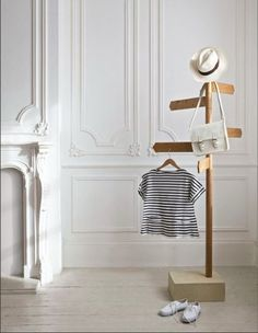 687 coat stand by david restorick interiors this is just too cute especially the baby clothes