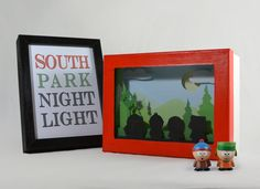 South park shadow box night light by FairyCherry on Etsy