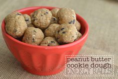 Designer Whey | Peanut Butter Cookie Dough Energy Balls   I am going to use Body by Vi protein powder