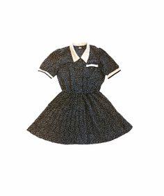 Polke Doke Dress by mothershipshop on Etsy, $28.00