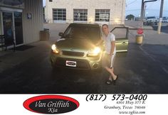 Happy Anniversary to Charlie on your #Kia #Soul from Kyle Kirkpatrick at Van Griffith Kia!  https://deliverymaxx.com/DealerReviews.aspx?DealerCode=PXVJ  #Anniversary #VanGriffithKia