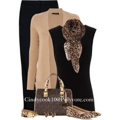 """""""Leopard Accessories"""" by cindycook10 on Polyvore"""