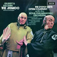 Gilbert & Sullivan The Mikado, with D' Oyly Carte Chorus & Orchestra