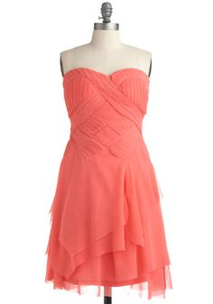I Ingenue It! Dress, #ModCloth Item #1473  I like this dress for my bridesmaids.  But maybe something different for Stacey??