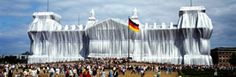 Christo and Jean Claude, Wrapped Reichstag
