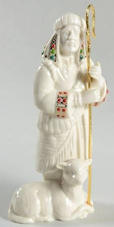 Shepherd with Staff Christmas Dinnerware, Lenox China, O Holy Night, Beautiful Christmas, Seasonal Decor, Nativity, Porcelain, Seasons, Jewels