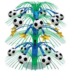 Championship Soccer Cascade Centrepiece