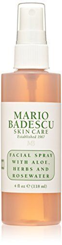 Mario Badescu Facial Spray with Aloe Herbs and Rosewater 4 oz -- To view further for this item, visit the image link.