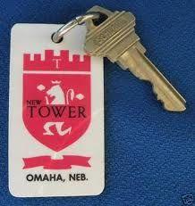 Omaha New Tower Inn, Key