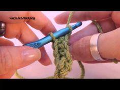 Learn How to Crochet LEFT HAND - Part 1 - Beginner Basics Chain, Single Crochet, CH, SC LH - YouTube