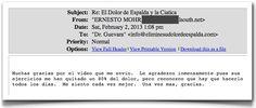 Testimonio 129 - Elimine Su Dolor de Espalda    http://www.eliminesudolordeespalda.com/blog