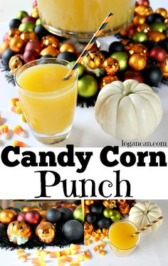 Candy Corn Punch Rec