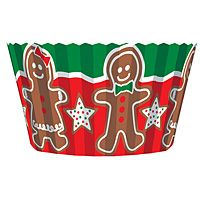 Gingerbread Cupcake Liners - Click Image to Close