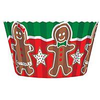 Gingerbread Cupcake Liners