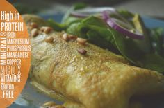 Egg Buritto With Spinach & Cottage Cheese - Healthy Cooking - YouTube